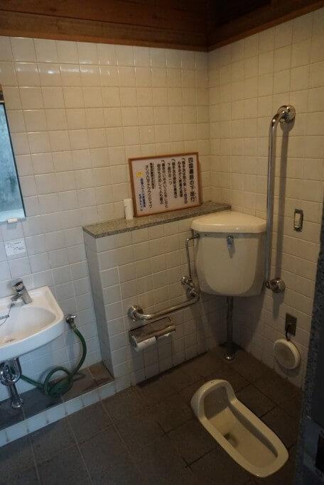 安楽寺 トイレ