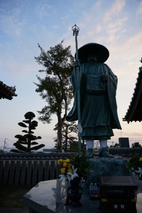 地蔵寺 修行大師像