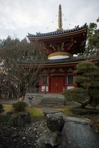 安楽寺 多宝塔