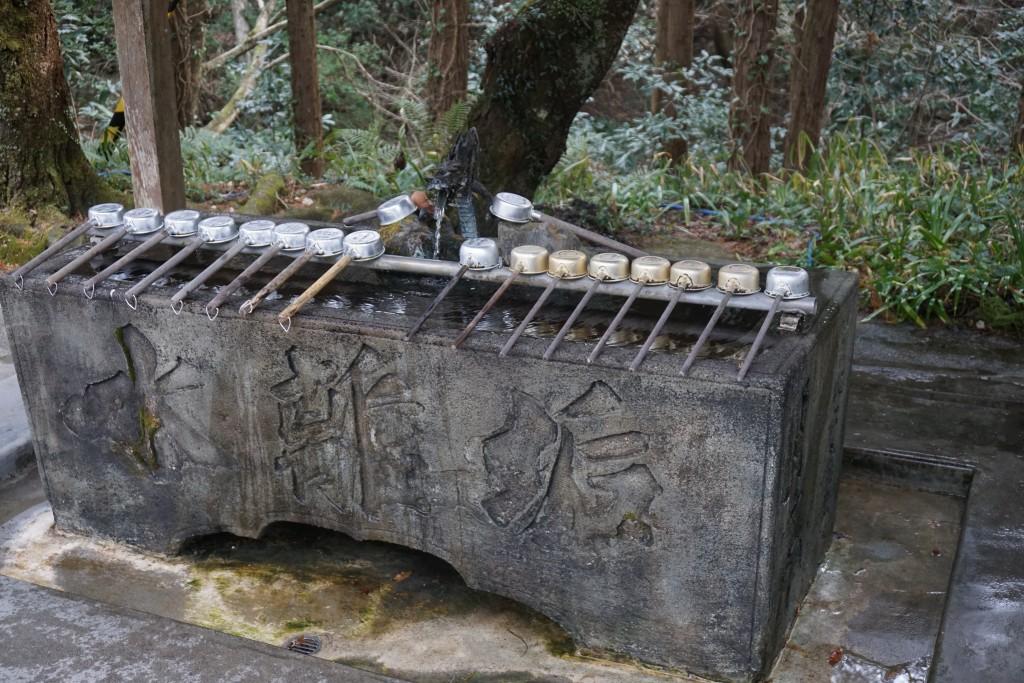 熊谷寺 手水舎