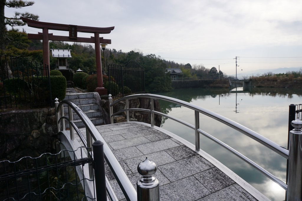 熊谷寺 弁天島