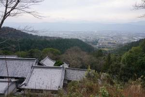 切幡寺 大塔からの景色