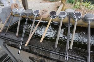 切幡寺 手水舎