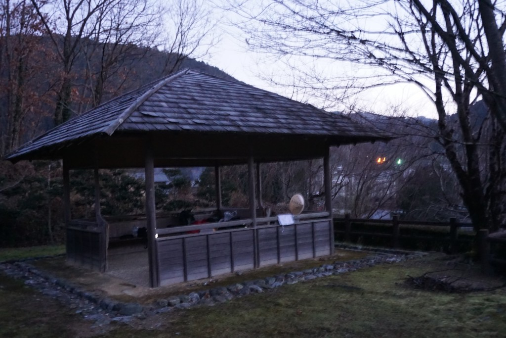 神山温泉 公園 東屋