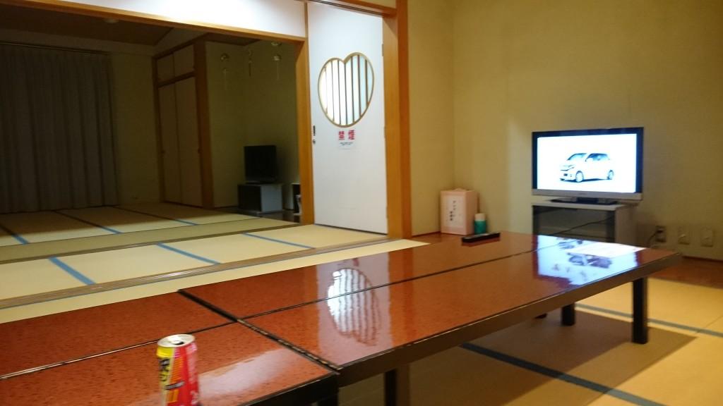 神山温泉 ホテル四季の里&いやしの湯 休憩部屋