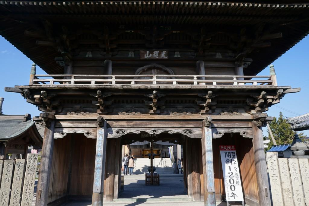 観音寺 鐘楼門