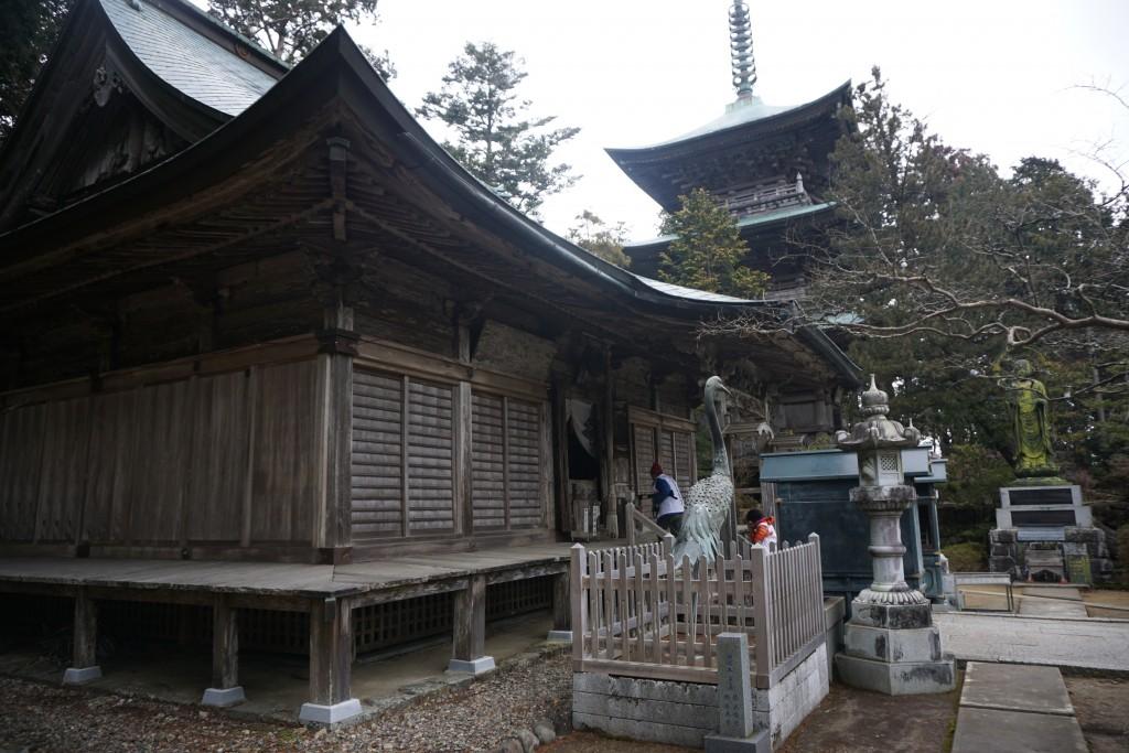 鶴林寺 本堂 三重塔