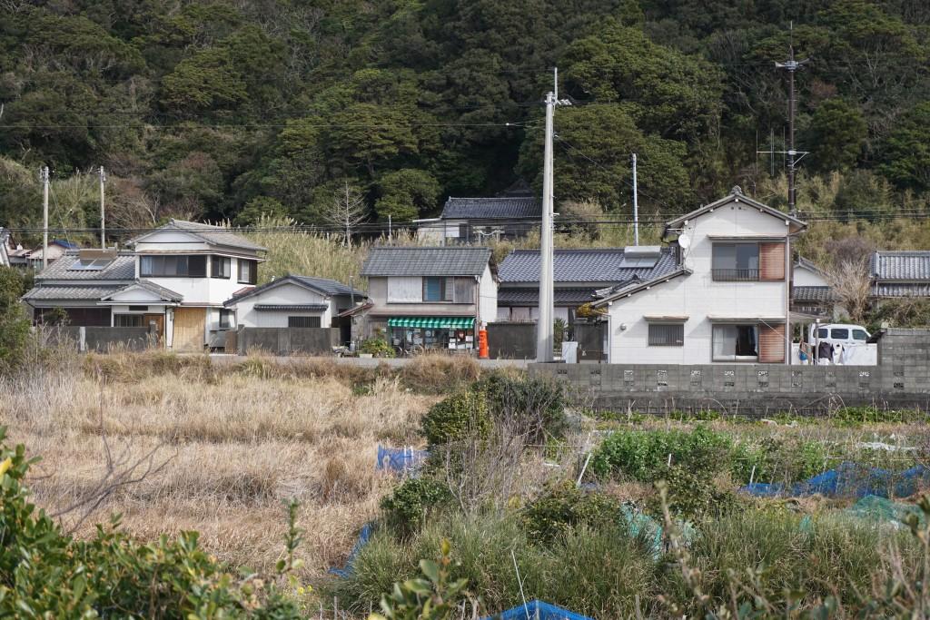 丸型ポスト 最御崎寺下旧道沿い