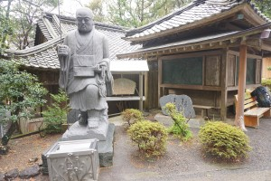 金剛頂寺 修行大師像