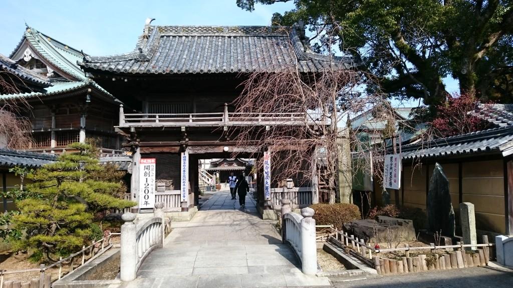 立江寺 山門