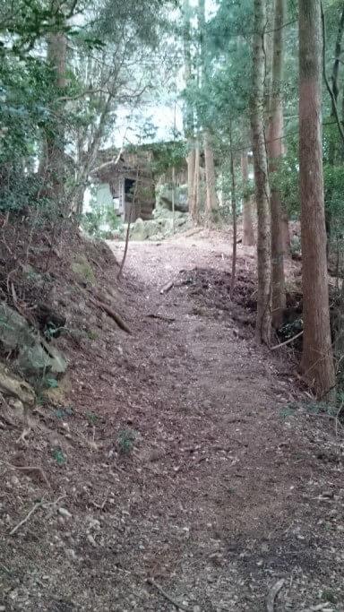 鶴林寺への遍路ころがし 鶴林寺山門