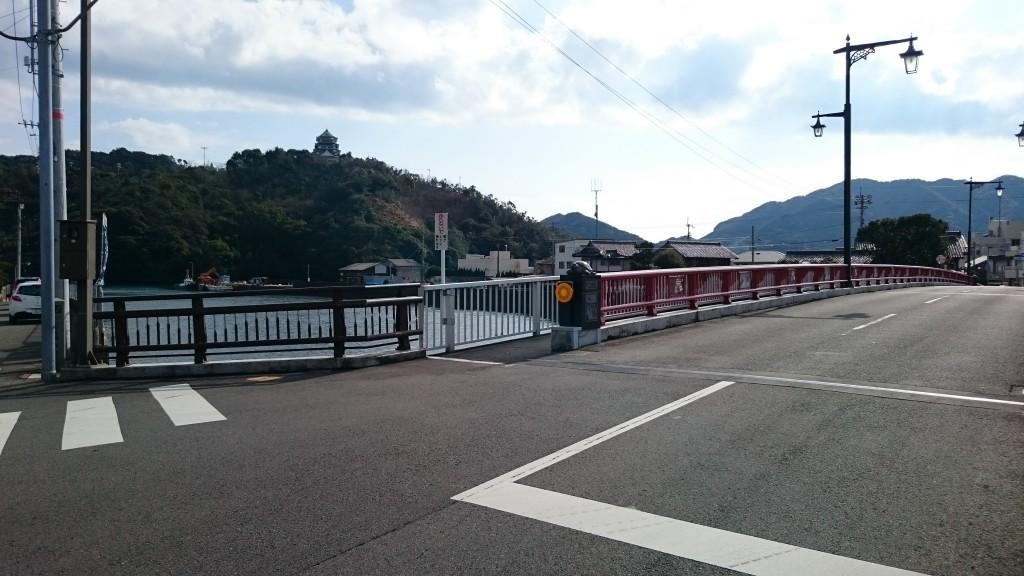 厄除橋から日和佐城