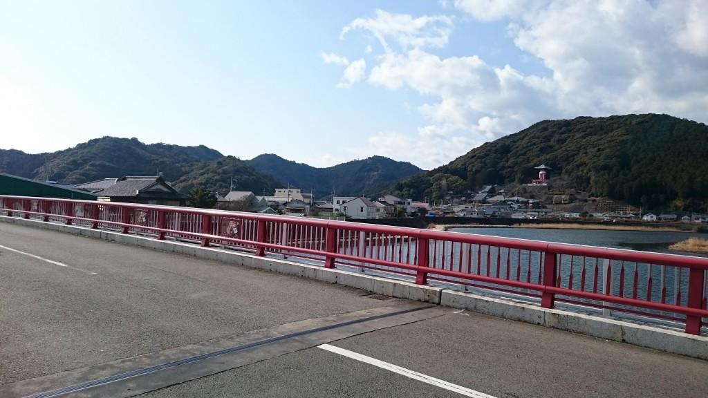 厄除橋から薬王寺