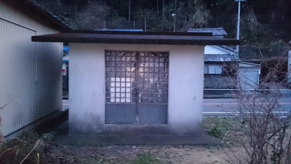 佐喜浜 大師堂 正面外観
