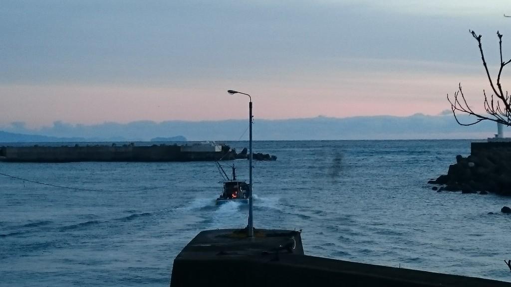 佐喜浜港 漁船