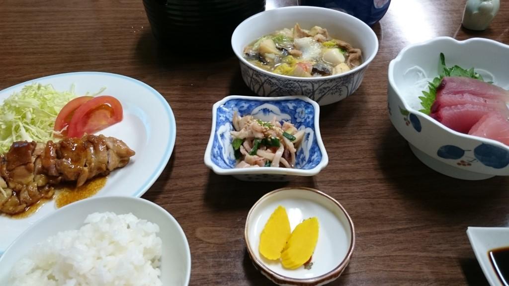 室戸 太田旅館 夕食