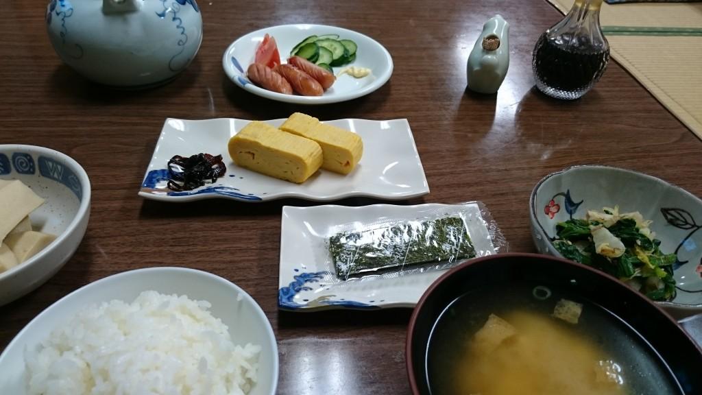 室戸 太田旅館 朝食