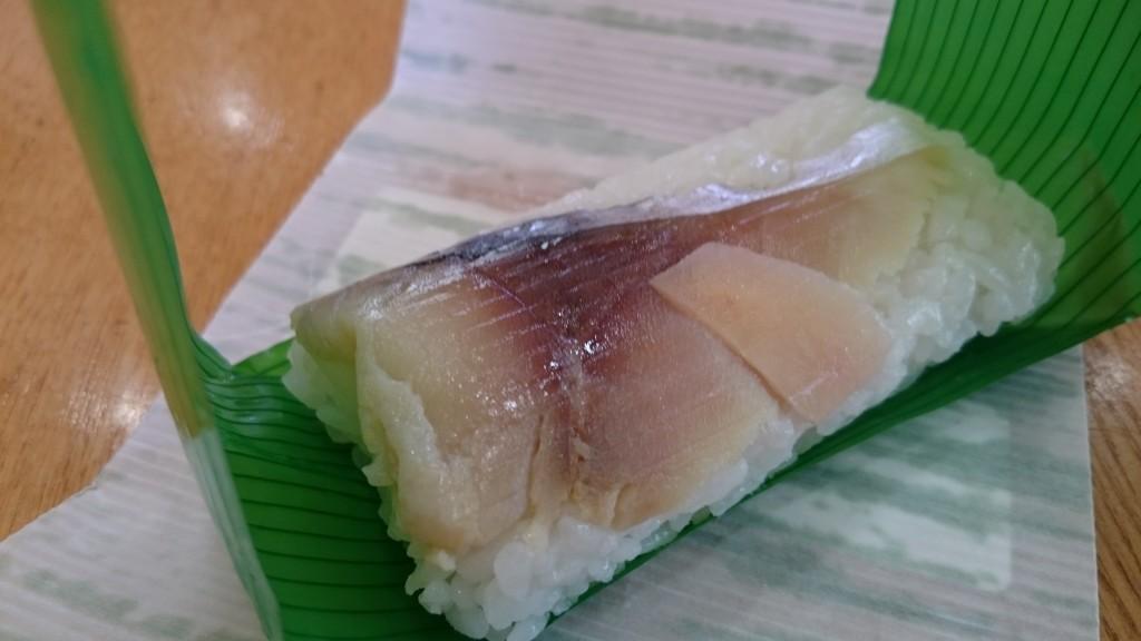 和歌山ラーメン 丸三 早なれ寿司
