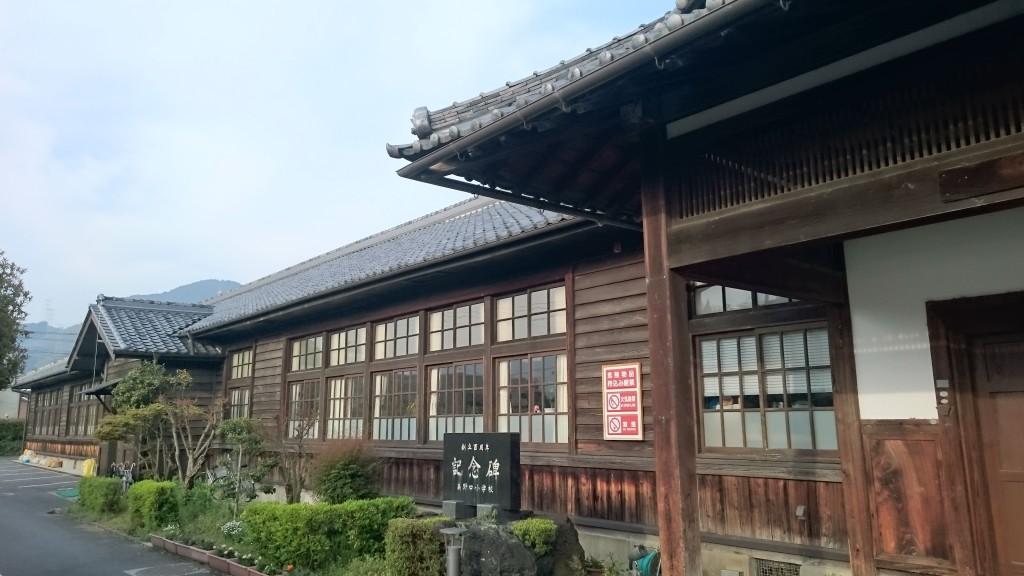 高野口小学校 木造校舎