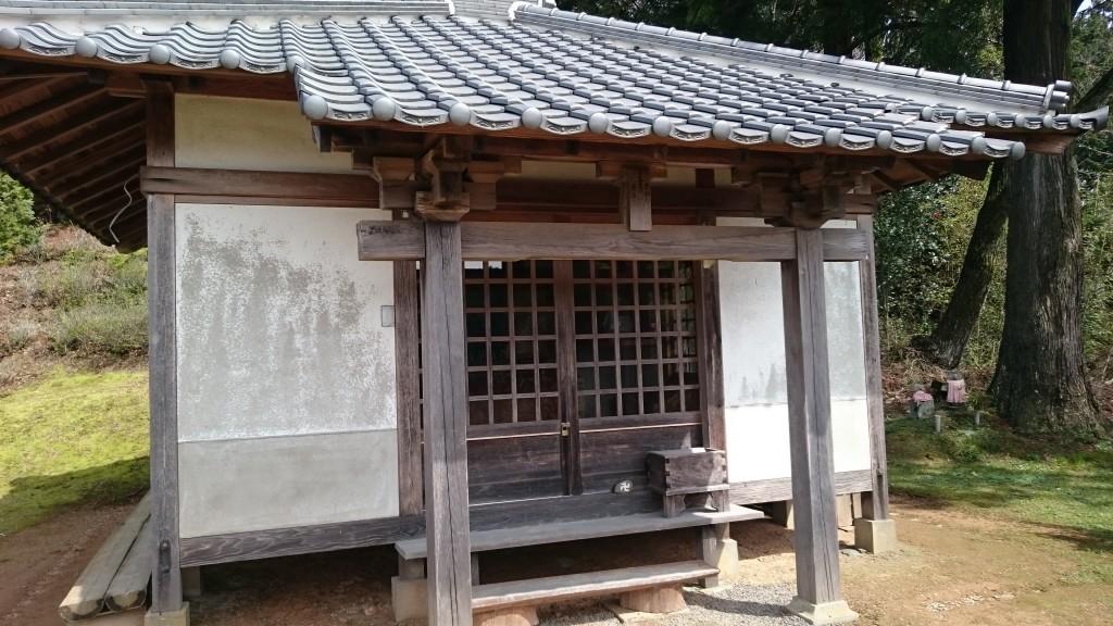 町石道 神田 地蔵堂