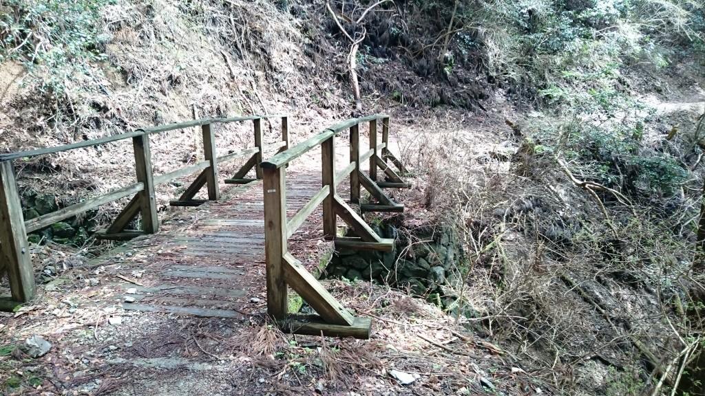 町石道 木橋