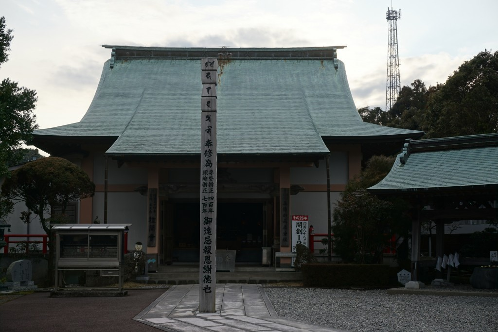 種間寺 本堂