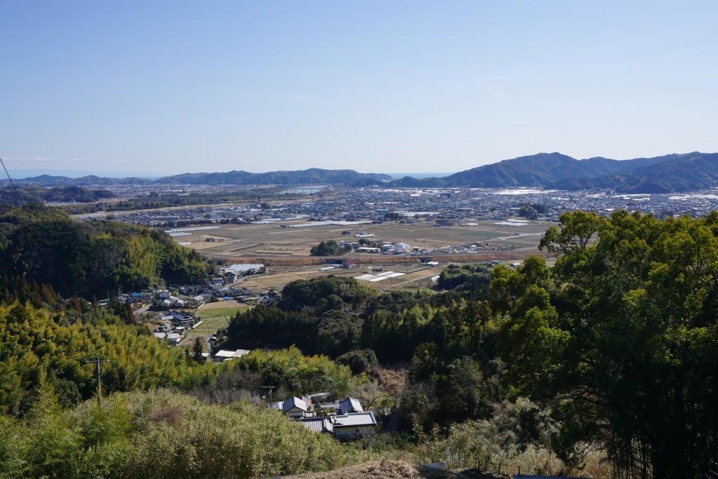 清瀧寺 田園風景
