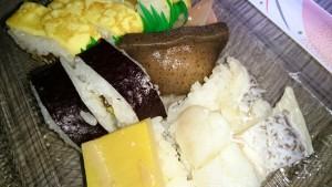 道の駅田野駅屋 田舎寿司 こんにゃく寿司