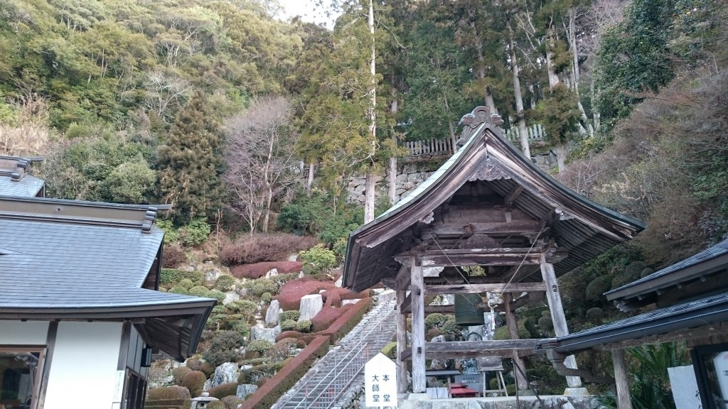 神峯寺 境内