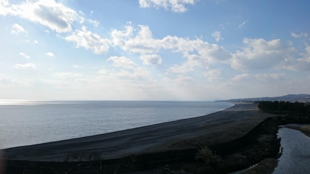 高知県赤野 海岸砂浜