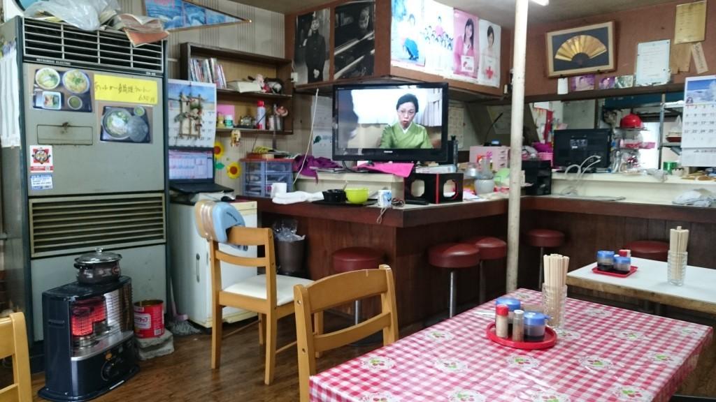 竹村食堂 店内