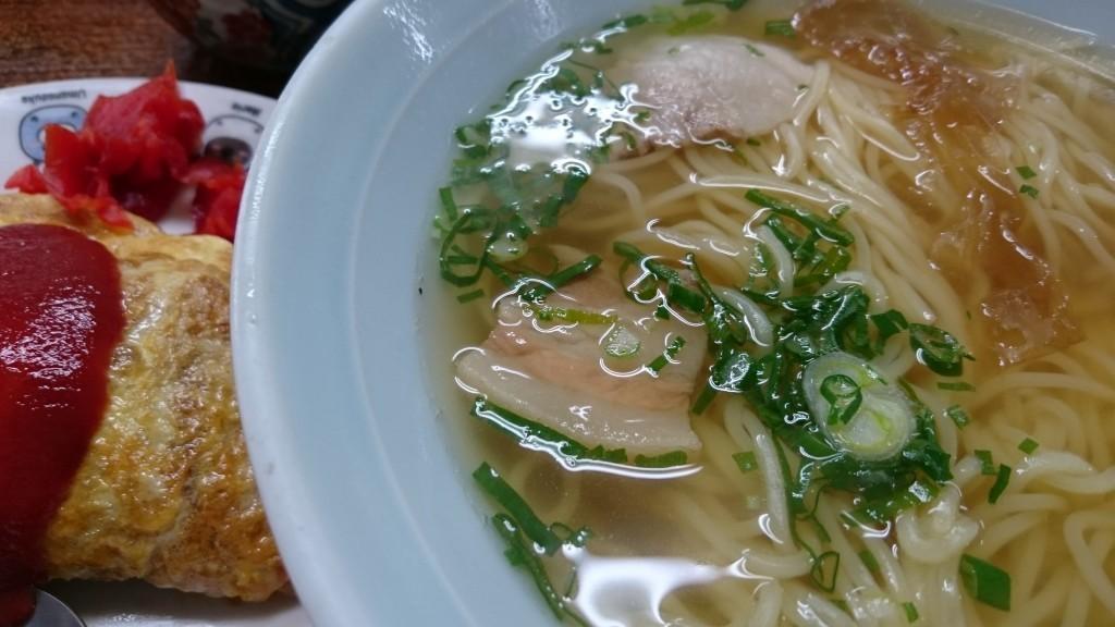 竹村食堂 ちゅうにちとミニオムライス