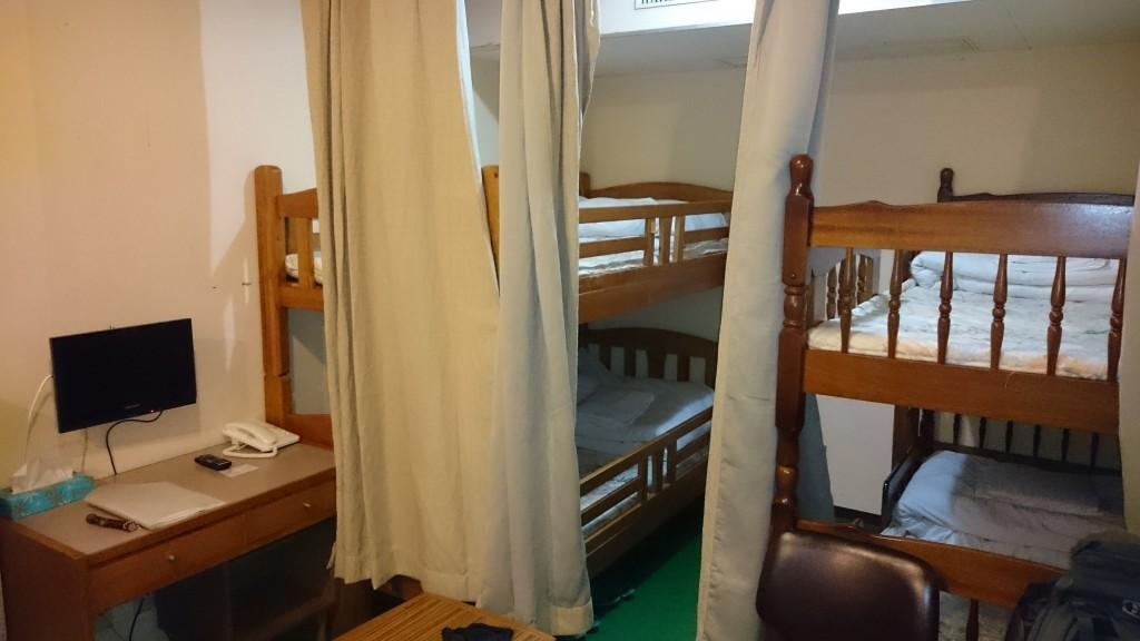 国民宿舎土佐 ドミトリー室内