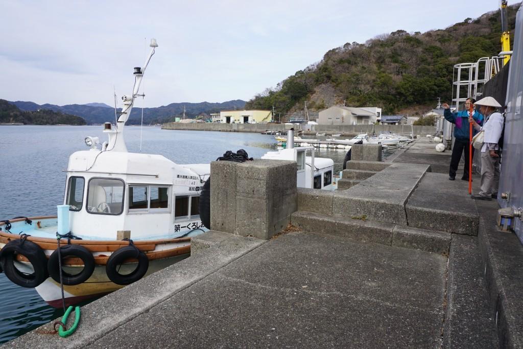 須崎市営巡航船 埋立乗船場