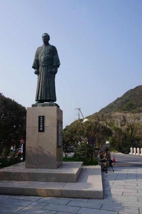 足摺岬 中浜万次郎銅像