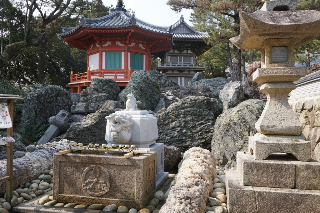金剛福寺 手水舎