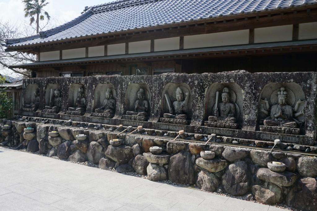 観自在寺 十二支守八体仏