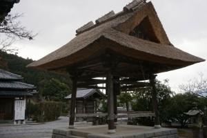 仏木寺 鐘楼堂