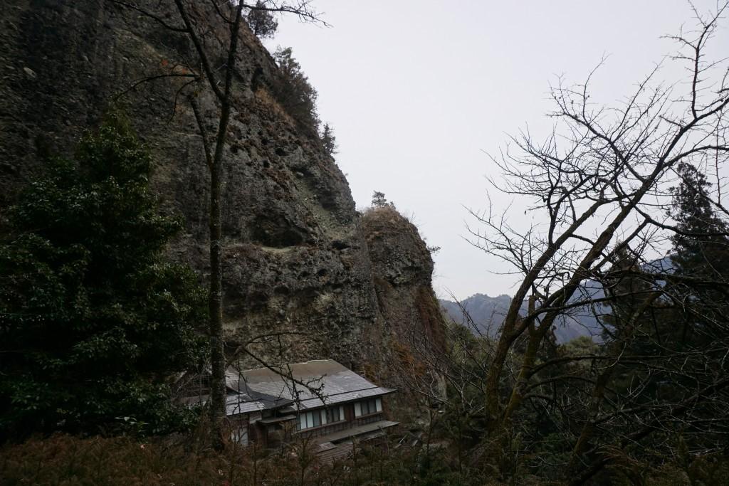 岩屋寺 山脈風景