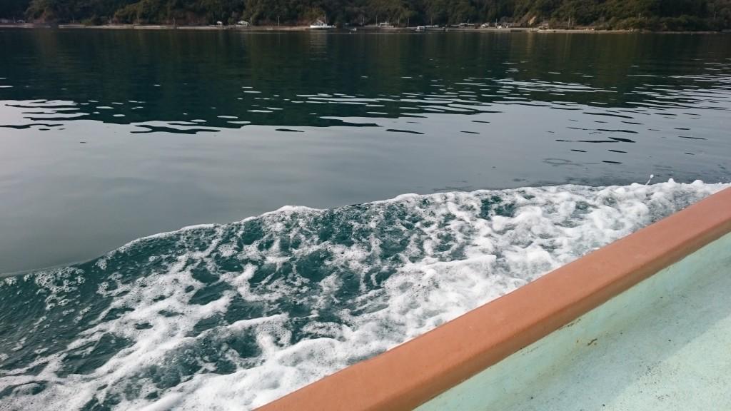 須崎市営巡航船 船上