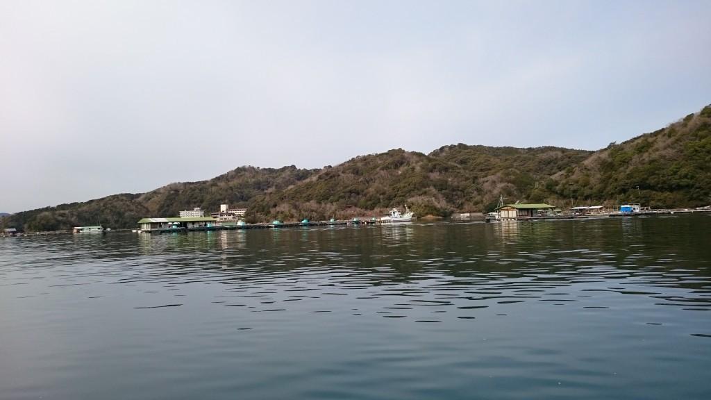 須崎市営巡航船 いかだ 海上小屋 真鯛養殖