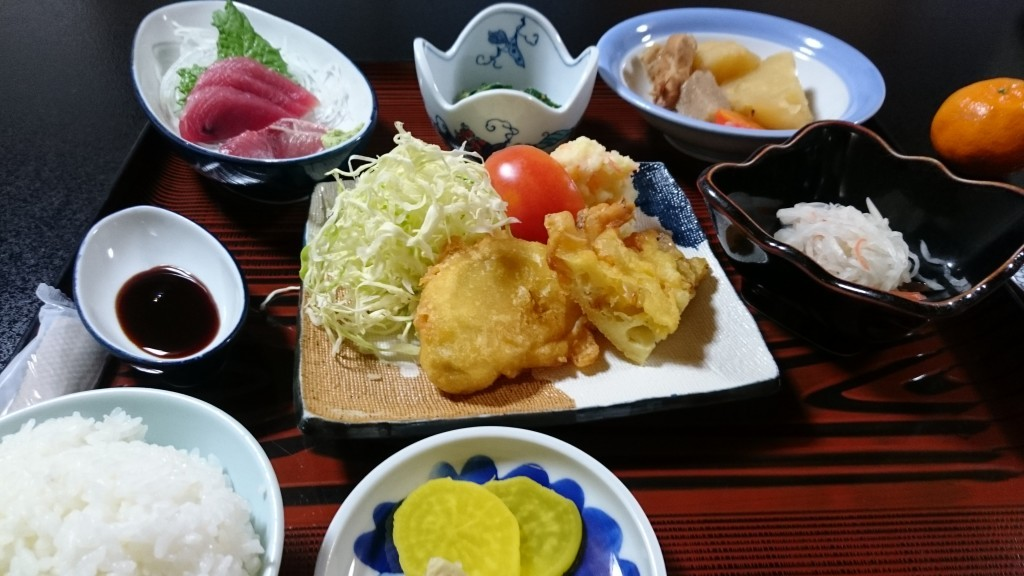 岩本寺 宿坊 夕食