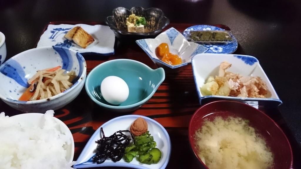 岩本寺 宿坊 朝食