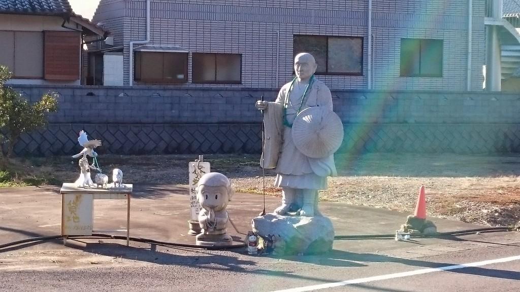 金上野 弘法大師像