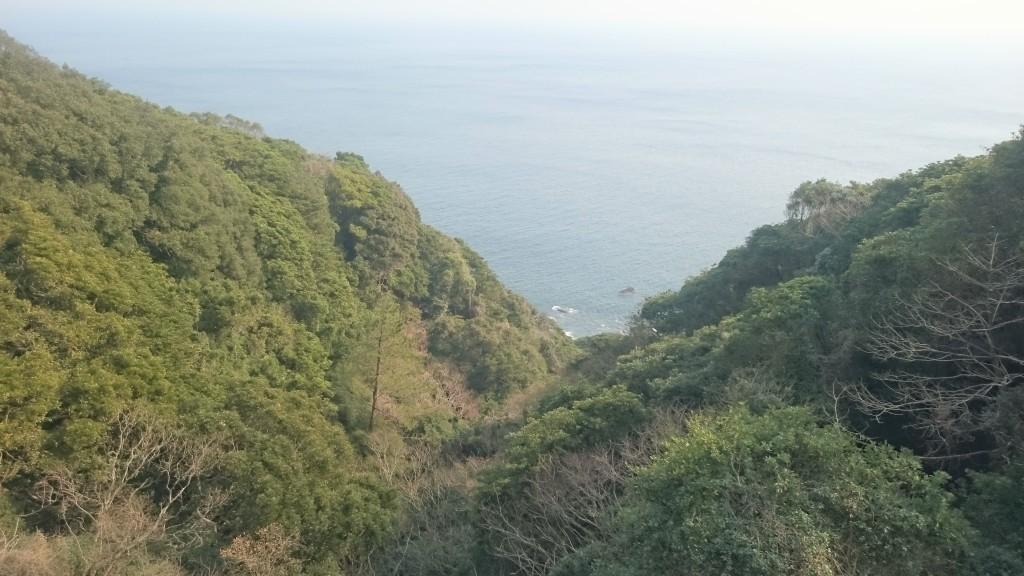 あしずり遍路道 断崖絶壁