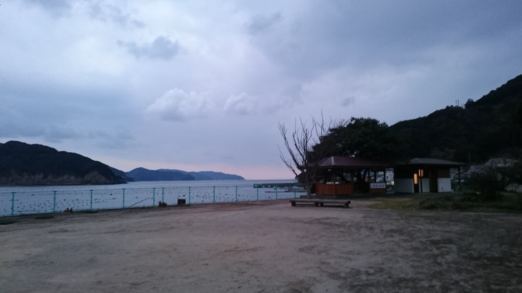 針木ふれあい広場 海岸