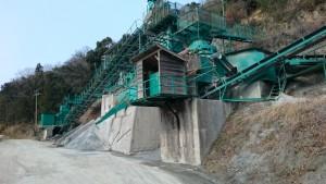 松尾峠へんろみち 下り 採石場