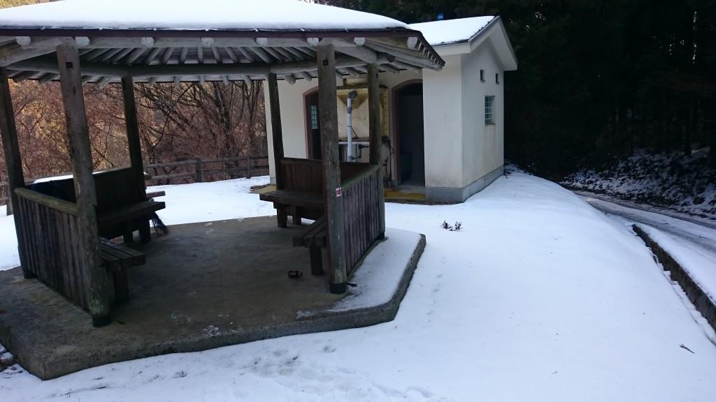 鴇田峠休憩所