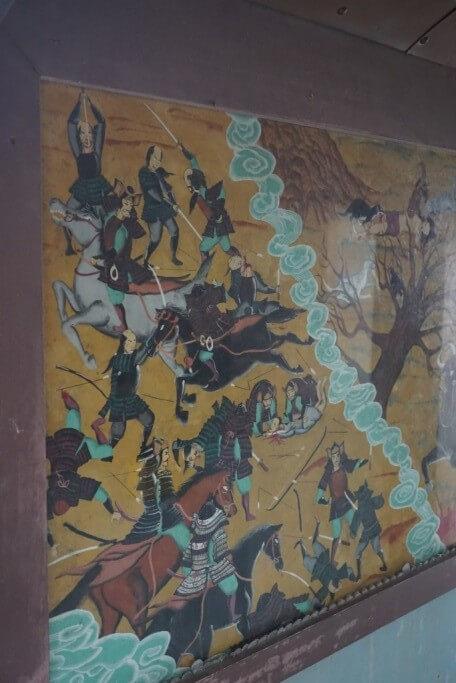 八坂寺 閻魔堂 地獄絵図