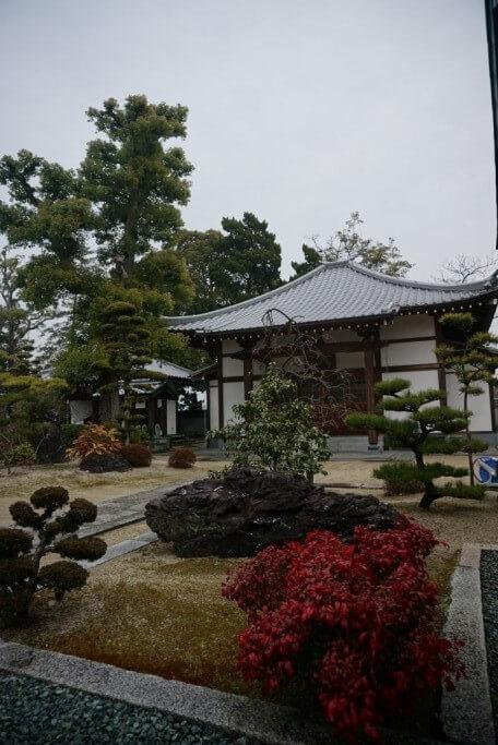 西林寺 閻魔堂 庭園
